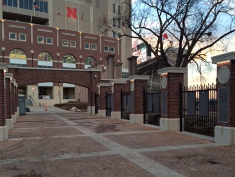 UNL Hall of Fame Plaza